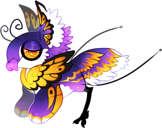 Flying royalty JR (collab) -AUCTION CLOSED) by Simonetry