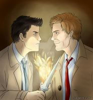 Cas and John by Vivalski