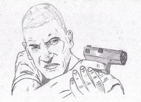 The Walking Dead: Shane Walsh WIP by StevenWilcox