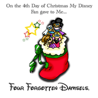 12 Disney Days of Christmas: 4 by caleigh
