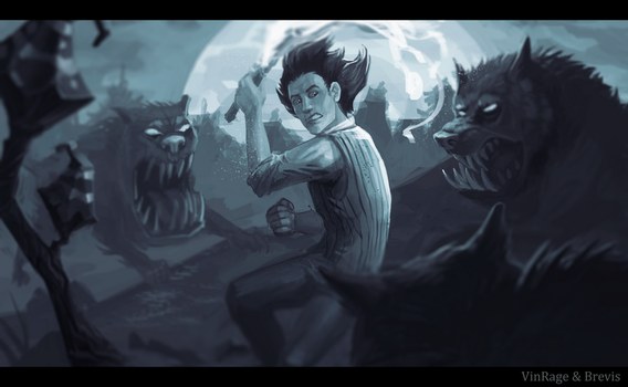Collab Dont Starve by Brevis--art