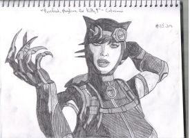 Catwoman by Pythagasaurus