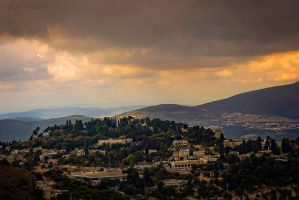 Clouds over Tsfat by ShlomitMessica