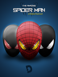 Icon set 3x - Amazing Spiderman by Awery