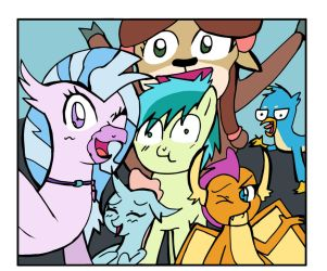 The School of Friendship students by Helsaabi