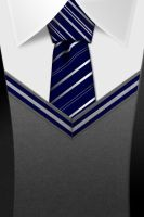 Ravenclaw tie HD, iPhone wall by Tinsdar