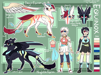 Equinox Reference Sheet by Solsteria
