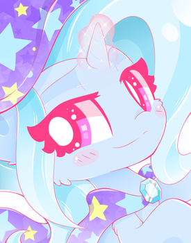 Trixie Sees You! by HungrySohma16