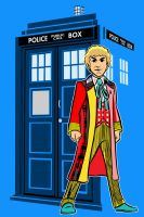 the sixth Doctor by AlanSchell