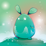 Cosmic Universe Bunny Wants to Snuggle Your Soul by lafhaha