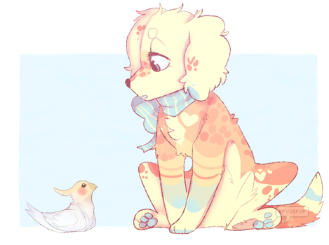 Oh look a birb by spvcepup