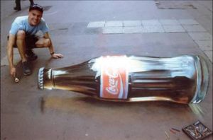 3D Chalk Drawing 7 by ABCalex
