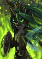 Queen Chrysalis by Z-N-K