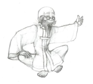 FFVII: Bugenhagen - Sketch by windinmysails