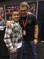 C2E2 2017: Me and Steve Blum by ian2x4