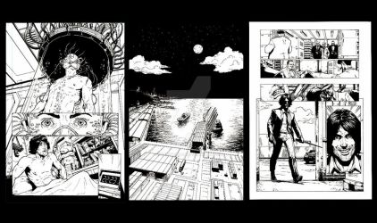 First 3 pages for Mr. Disaster issue 1 by SketchB0000k