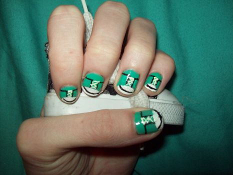 Converse Nails 2 by ffishy21