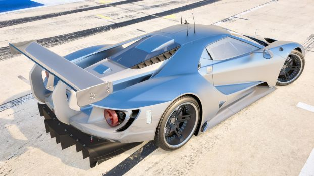 2016 Ford GT Race Car by SamCurry