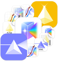 Graphpad Prism iOS style Icons by ChilliTrav