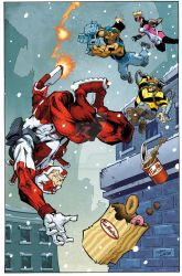 Captain Canuck - 'Double Double' by GibsonQuarter27