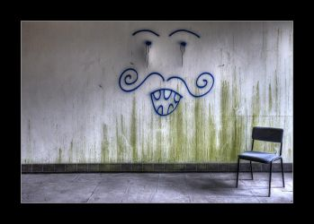 Face and Chair by 2510620