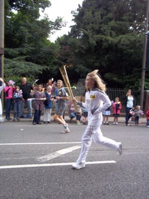 Olympic Torch Relay Higham 20th July 2012 by Bumble2011