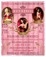 Bordello Show Poster by sexyillustrator