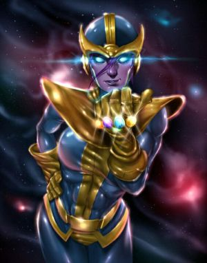 Fem!Thanos X M!Reader FULL (Marvel) by TaranThyGod on DeviantArt