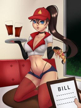 Pizza Delivery Sivir by DokiDraw