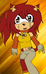 .:Chibi Kiley SportyPrincess44 (AT):. by Oceanset