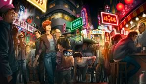 China Street by Guybrush4EVER
