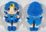 Sailor Mercury Plush by SarahsPlushNStuff