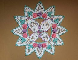 Butterfly Doily by koepr5333