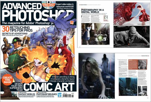 My interview in Advanced Photoshop Magazine  #126 by conservancy