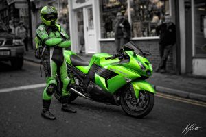 Green Ninja by LuntPhotography