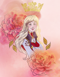 89/365 Queen Cousland by DraumWitch