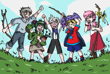 FEF: Heros Of The Future by SaintsSister47