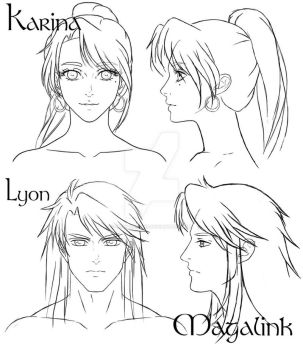 Front and Profile Shots by MrsMagalink
