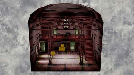 [DL] MMD Warehouse Stage by Maddoktor2