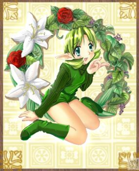 Saria, the forest Sage by SigurdHosenfeld