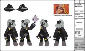 - Obsidian Official Model Sheet - by PencilTree
