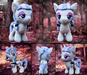 Inky Rose plush - My little pony by PinkuArt