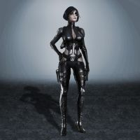 Deadpool Domino by ArmachamCorp