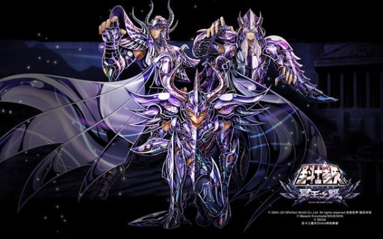 3 Jueces del Infierno - Wallpaper Saint Seiya by Obedragon