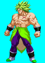 New Broly by Isair-Dragneel