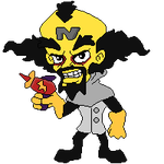 Pixel Doll: CB- Dr neo cortex PS1/PS4 by StephDragonness