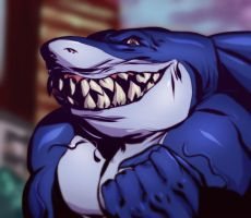 Street Sharks Ripster by EricMartinDOOD