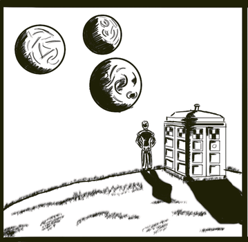 Doctor Who Preview - Panel 1 by Purebreedalien