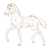 N3300 Padro Foal Design for DarkestNation by casinuba