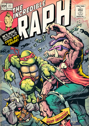 The Incredible Raph - Covering The Covers by donovanalex